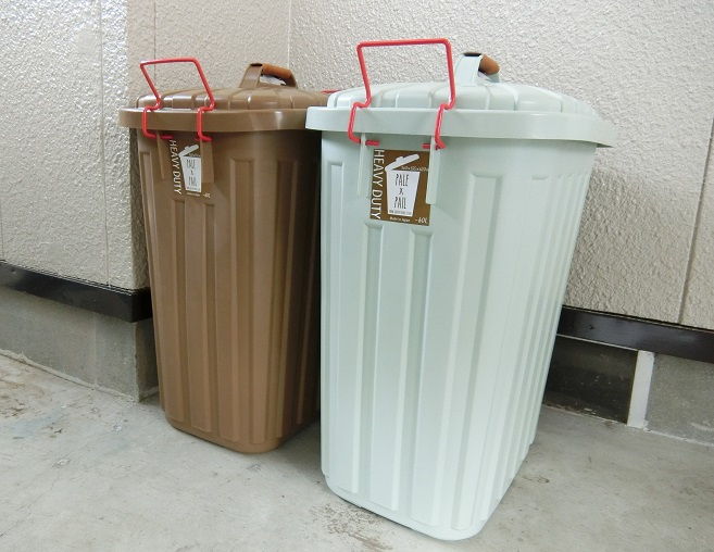外用のゴミ箱